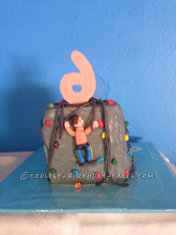 Th Rock Climbing Birthday Cakes