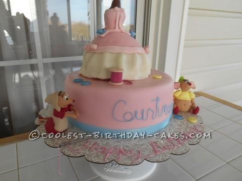 Coolest Cinderella Birthday Cake