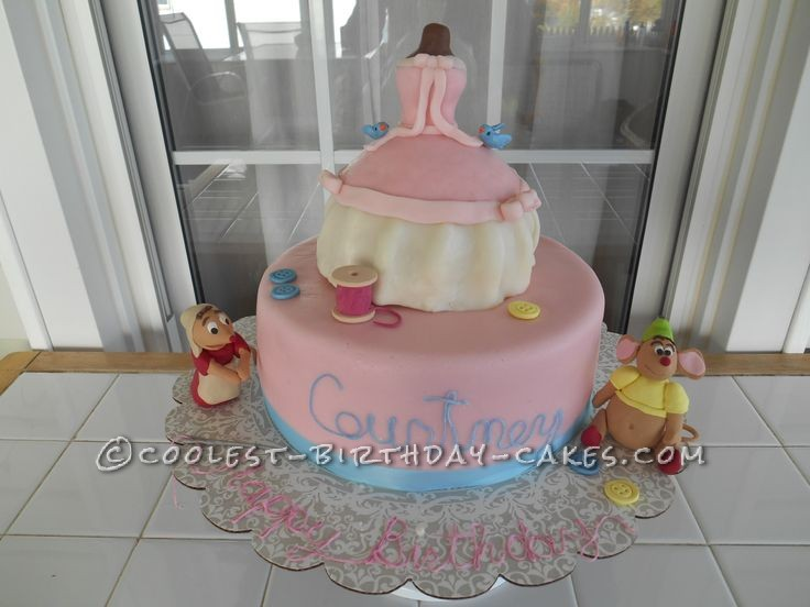 Coolest Cinderella Birthday Cake