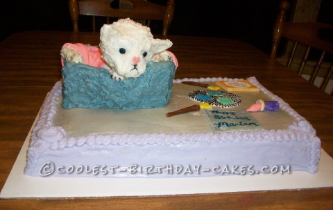 Coolest Persian Kitty Cake