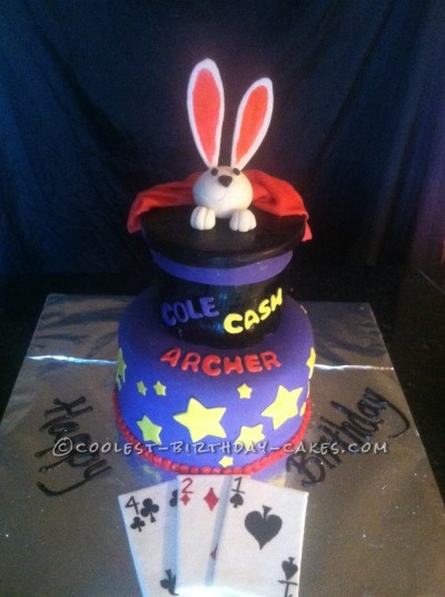 Abracadabra! Cool Magical Birthday Cake