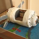 ATV Spaceship Cakes
