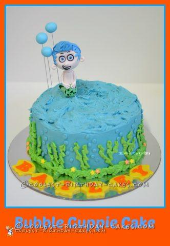 Bubble Guppie Cake