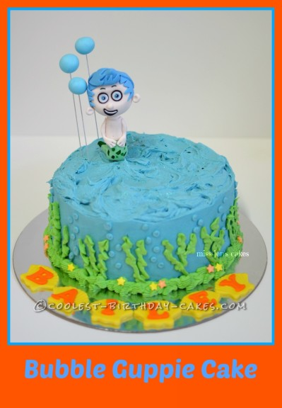 Terrific Coolest Homemade Bubble Guppies Cakes Personalised Birthday Cards Paralily Jamesorg