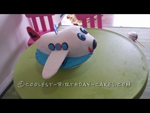 Coolest Airplane Birthday Cake