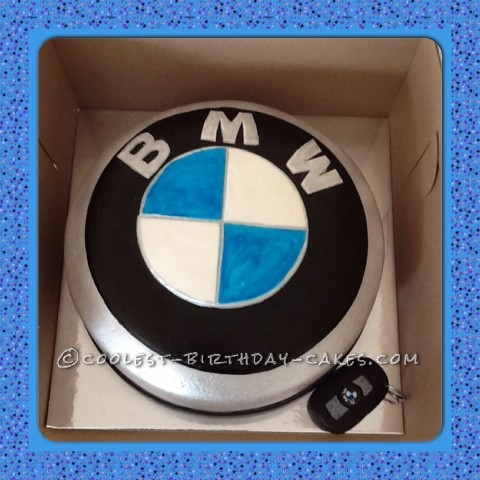 Coolest BMW Logo Birthday Cake