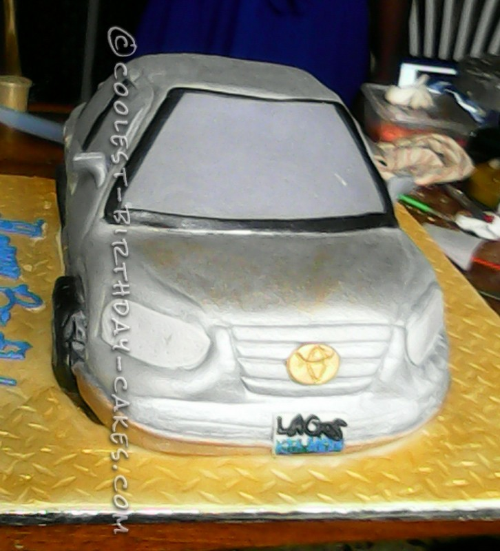 Coolest Camry Birthdy Cake for 10 Year Old