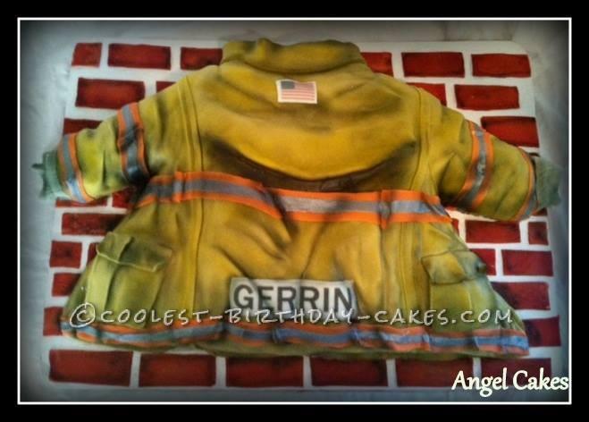 Coolest Firefighter's Birthday Cake