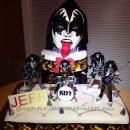 Coolest Kiss/ Gene Simmons Cake