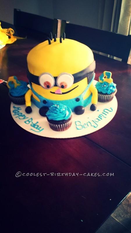 Coolest Minion Cake