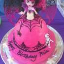 Coolest Monster High Draculaura Cake