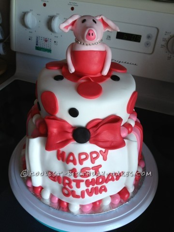 Coolest Olivia Cake