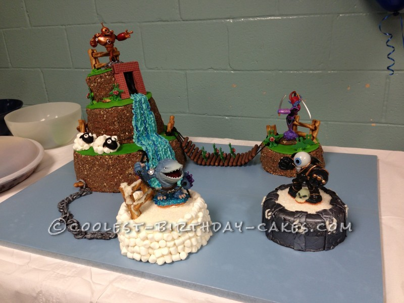 Terrific Coolest Skylanders Giants Cake Birthday Cards Printable Trancafe Filternl