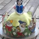 Coolest Snow White Cake
