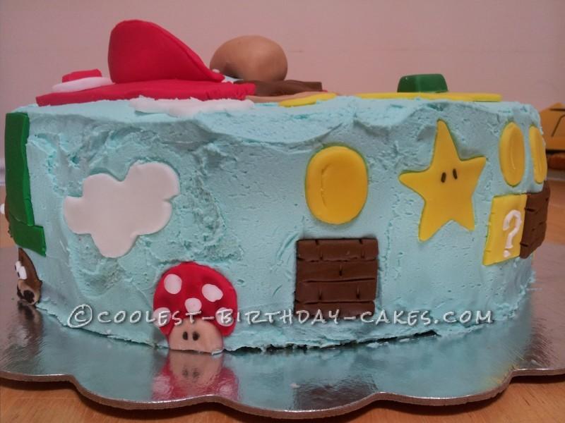 Coolest Super Mario Cake