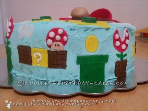 Coolest Super Mario Cake