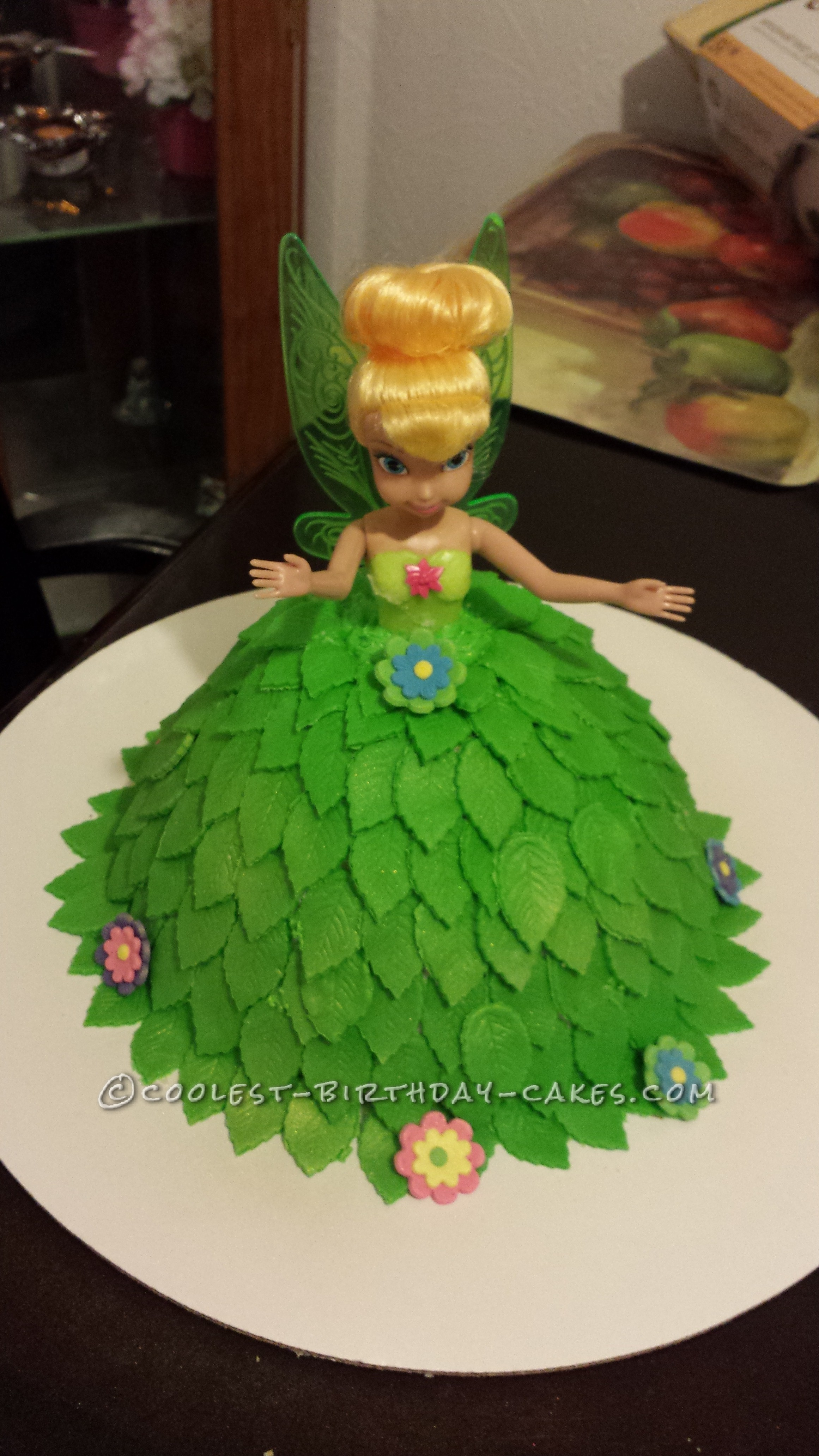 Tinkerbell Cake Pan Instructions