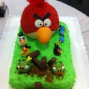 Crazy Cool Angry Birds Cake
