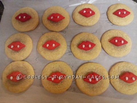 Vampire Cookie Favors
