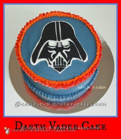 Cool Darth Vader Cake