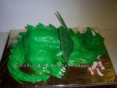 Deadly Dragon Cake
