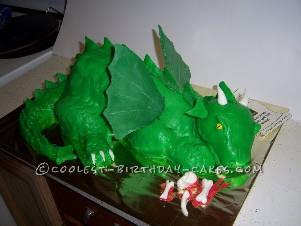 Deadly Dragon Cake