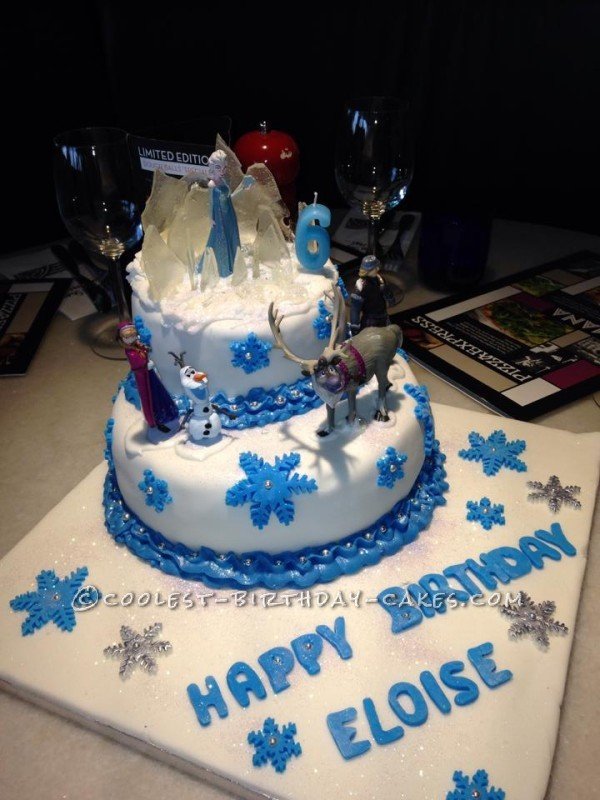 Frozen Disney Cake Ideas