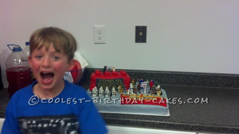 Cool Star Wars Lego Cake