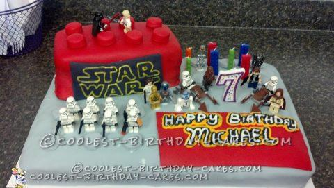 Cool Star Wars Lego Cake