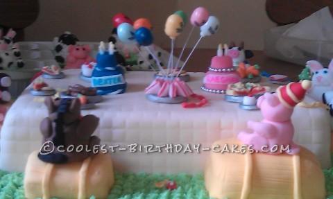 Farmyard Joint Birthday Cake