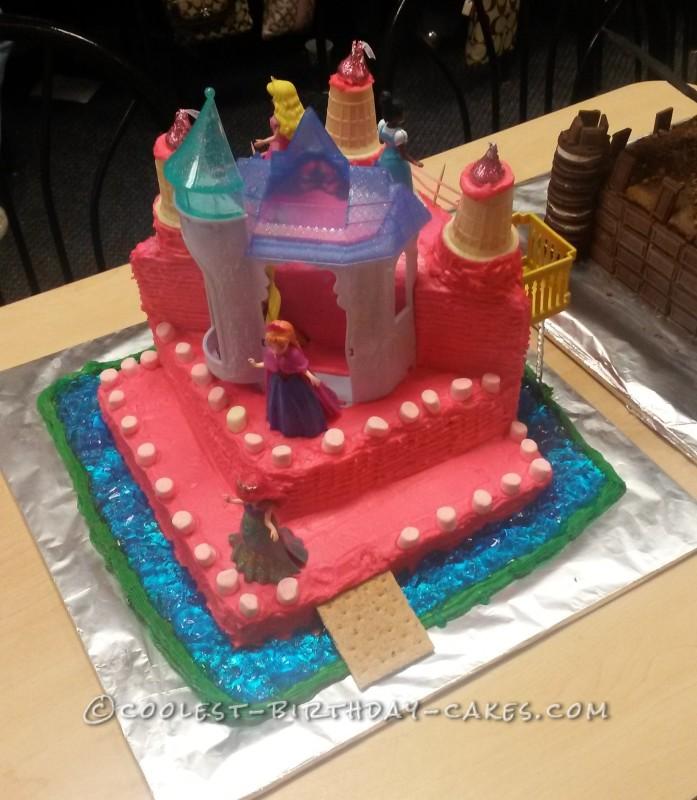 First Princess Castle Cake