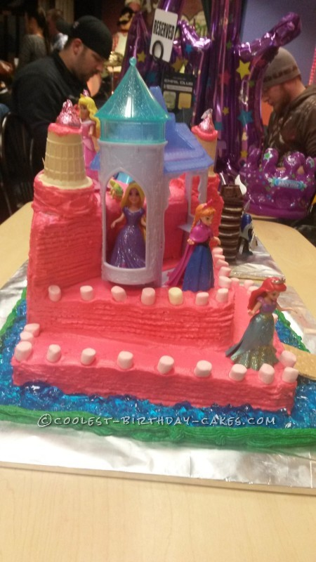 First Princess Castle Cake