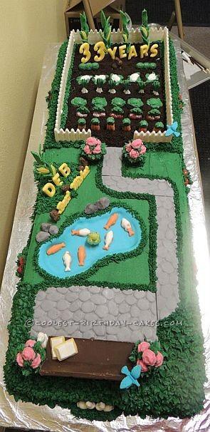 Coolest tranquil garden cake for Tranquil garden designs