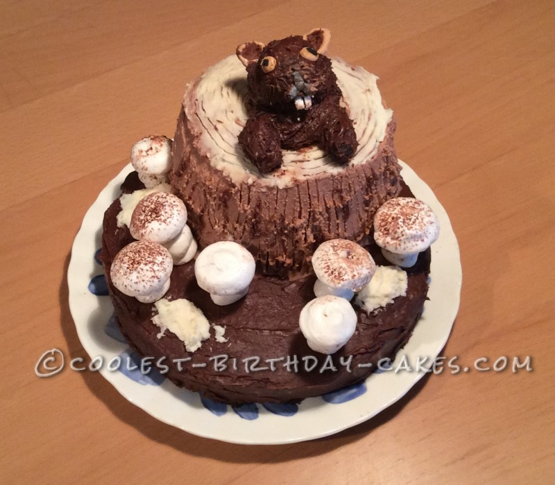 next cake coolest groundhog birthday cake by becky edgewater maryland