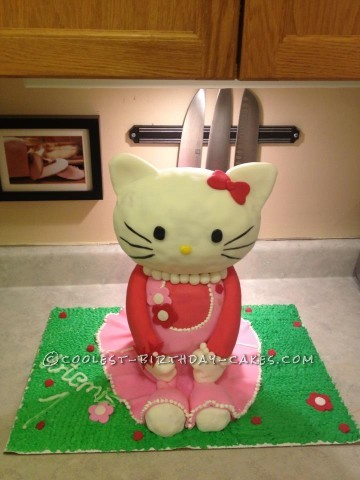 Hello Kitty Cake Saved at the Last Minute!