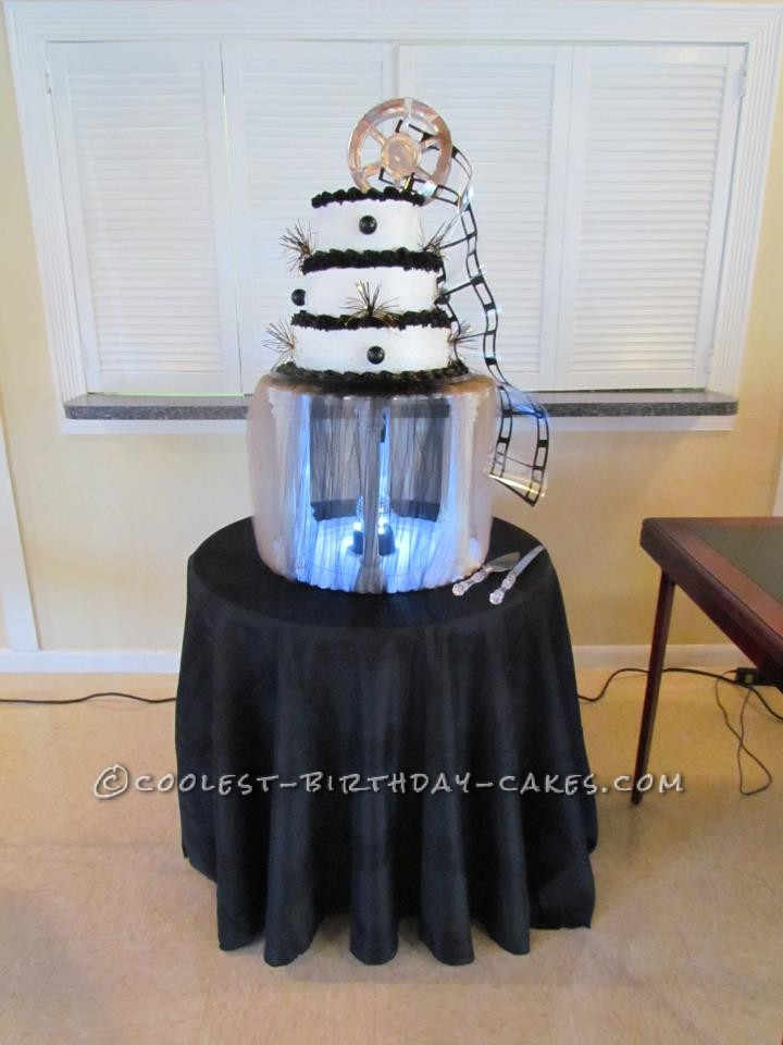 Coolest Hollywood Themed Birthday Cake