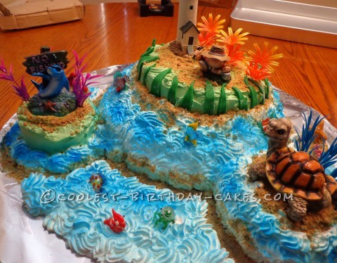 Island Fishing Cake For That Man Of Any Age