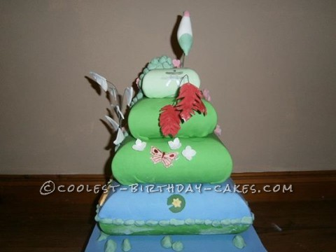 Japanese Water Garden Display Cake
