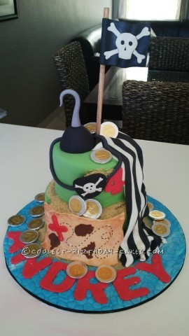 Last-Minute Pirate Birthday Cake