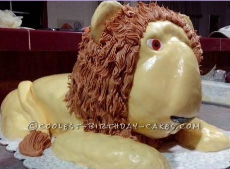 Coolest Lion Cake