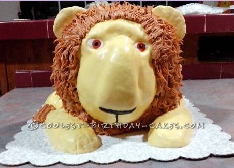 Coolest Lion Cake