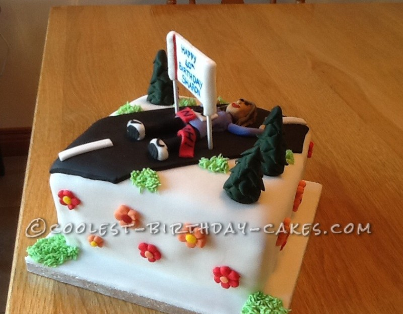 ... for family so far but I love doing it. Hope you like my running cake