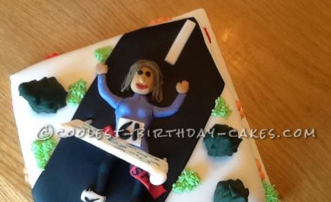 New to Running 40th Birthday Cake