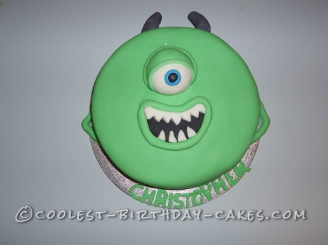 Coolest One Eyed Monster Inc Cake