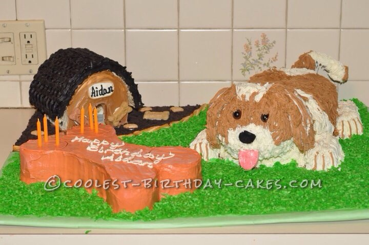 Penny the Shih-Tzu Dog Cake