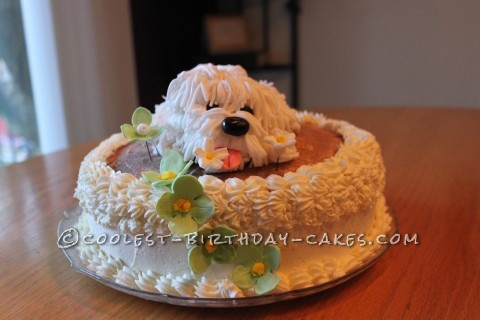 Shaggy Puppy Cake
