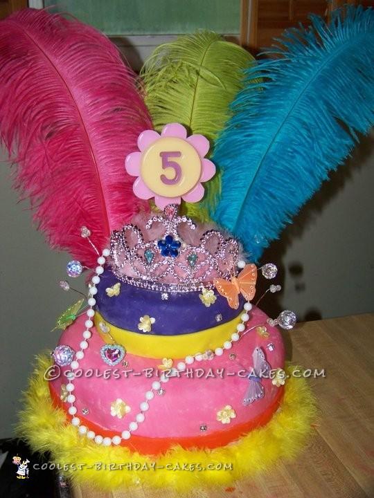 Slendiferous Fancy Nancy Cake
