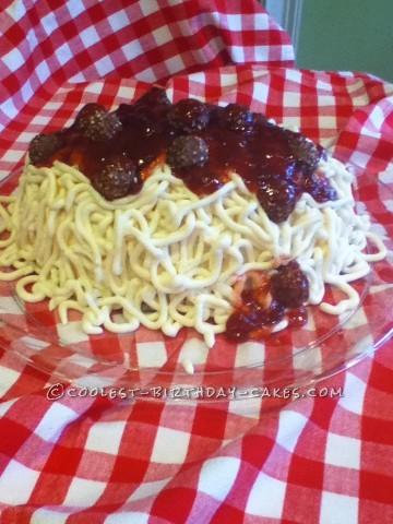 Coolest Spaghetti Cake