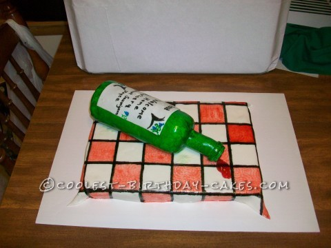 How To Make A Spilled Wine Cake
