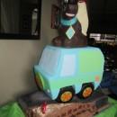 Coolest Spooky Scooby Doo Birthday Cake
